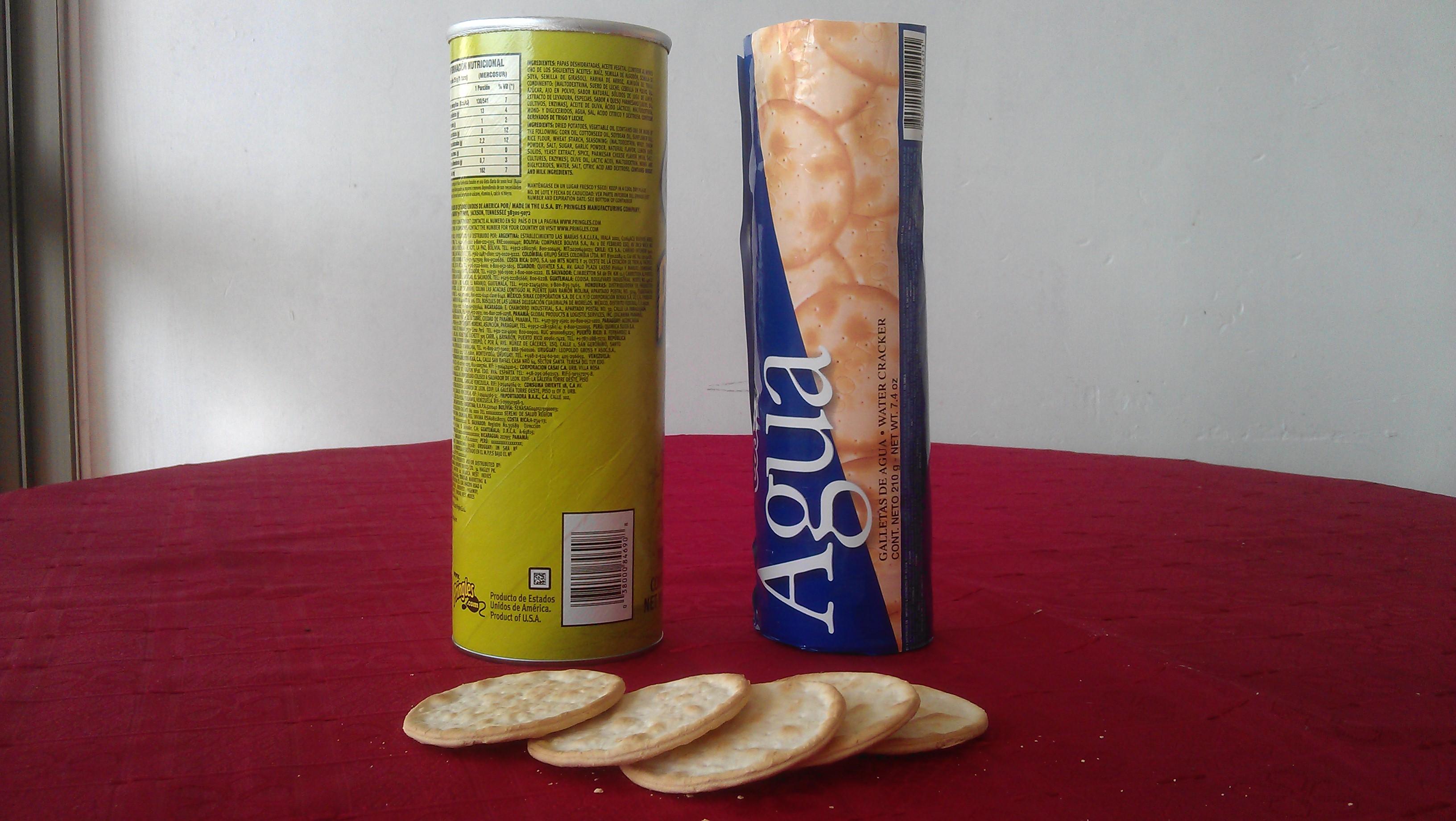 Envase para conservar galletas (reciclado)